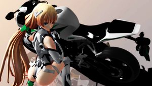 [MMD] Angela Balzac  Expelled from Paradise by gaiachaos