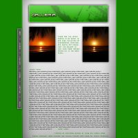 Green Gallery Template by nocturnal-schism