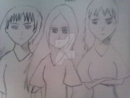 The trio of RoF by Luafua
