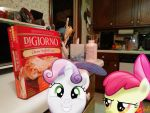 Sweetie Belle made me get pizza by OJhat