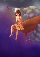 Fishing for Love by Fukairi