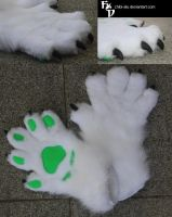 Handpaws for ManiacBlack by Chibi-Alu