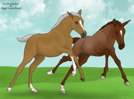 Nordanner Foal Collab by Silverti