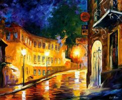 Lonley Night by Leonidafremov