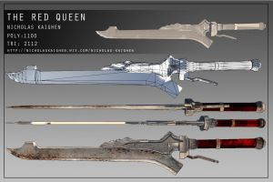 The Red Queen Construction Sheet by nicholasKaighen