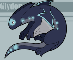 Fakemon- Glydon by SuperRara