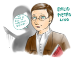 Character sketch - Emilio Pietro Lino by FuriarossaAndMimma
