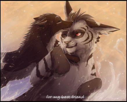 for my best friend by azzai