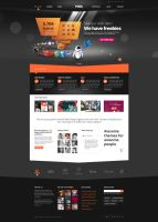Pixel Studio - Premium Website Template - Dark by DaJyDesigns