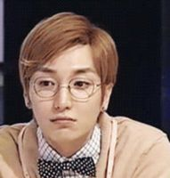 Teukie with glasses - GIF by teuktomyheart