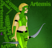 Young Justice. Artemis. by Chizu-PS