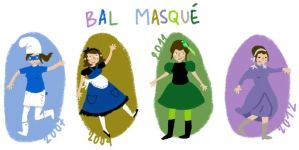 What I Wore Today Bal Masque by MushedPatatoes