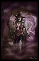 Red Witch - colored by Captain-Starbuck