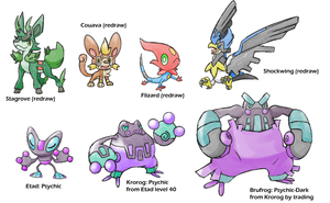 Upcoming Fakemon 3 by Marix20