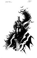 Batman ESFC exclusive inks by KenHunt