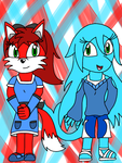 Kendall and Coralina EX World Adventure Style by SkyminHAZBOZ