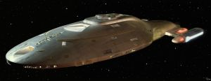 USS Voyager by DudQuitter