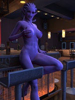 Daemonette At The Bar by Disembowell