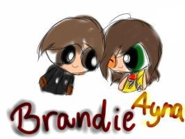 Brandie and Ayna by TalkyThing