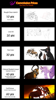 Point Commission Prices :OPEN: by Whitelupine