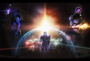 Mass Effect. by 3ly4rd