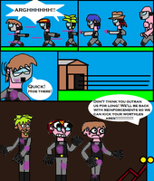 Paint ball mayhem PG 7 by scifiguy9000