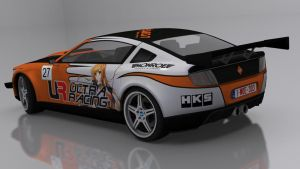 Ultra Racing CanyonCar RS 7th (Rear quarter view) by skytire