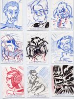 Star Wars-Galactic Files Sketch Cards #2 by mikehampton