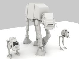 star wars render by saruman-23