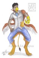 Griffin costume tf 2 by Ageaus