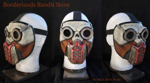 Borderlands Bandit Steve Cosplay Mask Heyooo!! by SKSProps