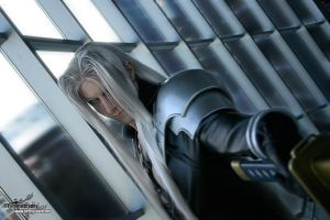 Cosplay Game Sephiroth_Cosplay_by_Lillyxandra