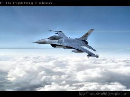 F16 Falcon_armed_ by marauderx666