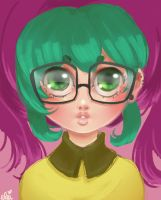 Candy Glasses - Jackie by evikted
