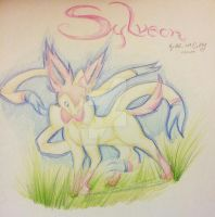 Sylveon request by KyuubiDragonMasterAC
