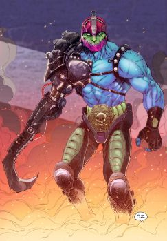 TRAP JAW (Masters of the universe) by OZartwork