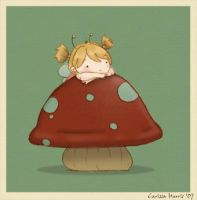Toadstool by tissa