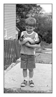 Boy with kitten.img475, with story by harrietsfriend