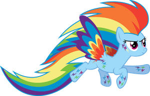 Rainbow Power Dashie (S04E26) by DJDavid98