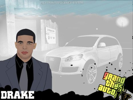 Drake   Vector  Wallpaper By Egzonni-d56xzva by EgzonNimani