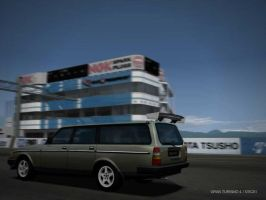 Super Volvo 240 Wagon by Street-Racer