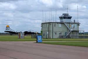 Duxford Control Tower by Daniel-Wales-Images