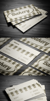 Bakery Business Card by FlowPixel