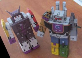 Bruticus and Menasor by aim11
