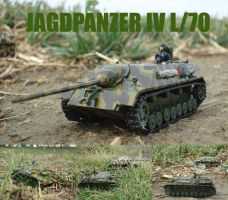 JG PZ IV with Forrest cammo by DingoPatagonico