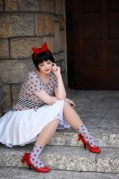 Tokyo Babylon - Polkadot Princess by Another-Rose