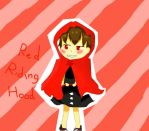 red riding hood_halilintar by airin5