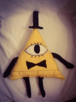 Gravity Falls: Bill Cipher Plush by Catzrock24