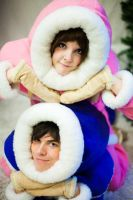 Ice Climbers: Peas in a pod by ImmortalCosplay