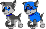 Leon the Paw Patrol Pup by Wolf-Prince-Leon